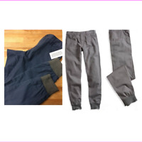 Guess Boys' Cuffed Skinny Pants, GBH07413E , Navy, Size 20, MSRP $45