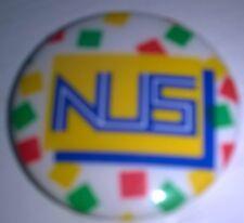 NUS Badge National Union of Students University Polytechnic Socialist Youth Rare