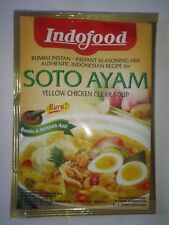 20pcs IndoFood Soto Ayam Yellow Chicken Clear Soup. Indonesian Recipe FREEShip
