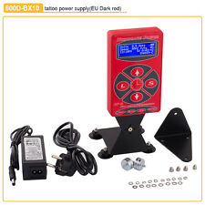Pro Dard Red Digital LCD Display Dual Tattoo Power Supply for Tattoo Machine Gun