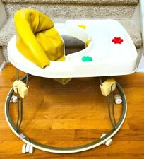 Vintage GRACO Baby Walker - Tot Wheels Activity Chair Graco Children Products