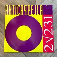 "Anticappella 2 √ 231, 12"" Vinyl Record LP 45 rpm, Italo House Techno Electronic"