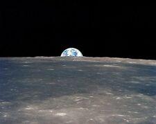 Apollo 11 Erde Rise über Mond Horizon 8x10 Silber Halogen Fotodruck