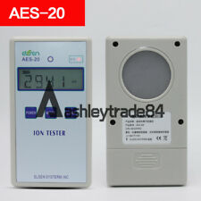 AES-20 Solid Ion Tester Meter for Solid Tourmaline Powder Coatings Textile