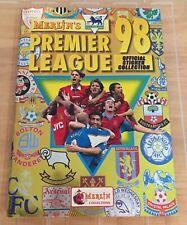 Merlin Premier League 98 1998 Complete Mint Condition