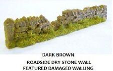 Javis PW1DBDAM 6 x 134mm Random Damaged Dark Brown Dry Stone Wall 00 Gauge 2nd P
