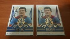 PETER BOX HAND SIGNED BROWNLOW MEDAL GALLERY CARD FOOTSCRAY BULLDOGS RARE X 1