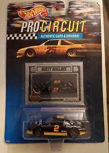 1992 Mattel Hot Wheels, Pro Circuit - Rusty Wallace, Nascar Car; sealed