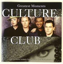 2x CD - Culture Club - Greatest Moments - A4084