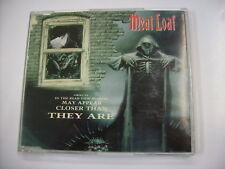 MEAT LOAF - OBJECTS IN THE REAR VIEW MIRROR - CD SINGLE VERY GOOD CONDITION 1994