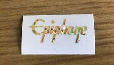 1 x Epiphone Guitar logo Sticker / Decal Perloid