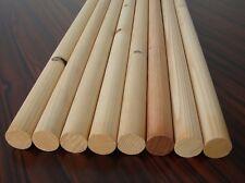 8 Bastel- Rundstäbe Kiefer/Fichte 35x900mm B-Ware Holzstäbe Rundstab Holz