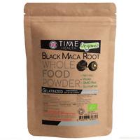 Black Maca Root Powder Gelatinized 4:1 Certified Organic 250g