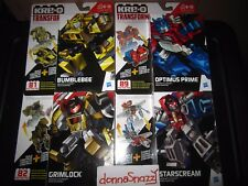KRE-O TRANSFORMERS KREON KREO KRE O OPTIMUS PRIME BUMBLEBEE STARSCREAM GRIMLOCK