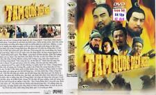 TAM QUOC DIEN NGHIA 1, 2, 3, 4 END - PHIM BO TRUNG QUOC - 42 DVD -  USLT