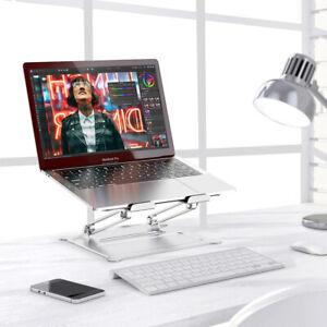 Laptop Stand Desk Foldable Desktop Laptop Holder Adjustable Keyboard Raiser