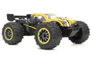 FUNTEK 1/12th Scale 4WD 540 Brushed High Speed Monster Truck FTK-STX - RC Addict