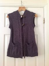 Women's Hooded Sleeveless Jumpers & Cardigans