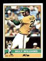 1976 Topps #525 Billy Williams EX+ Athletics 514313