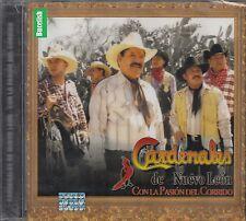 Los Cardenales de Nuevo Leon Con La Pasion Del Corrido CD New