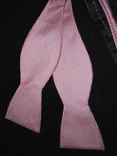 USA Pink 100% Silk Bowtie The Tie Bar