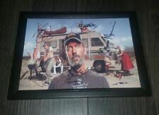 """HOUSE M.D. CAST X6 PP SIGNED & FRAMED A4 12X8"""" PHOTO POSTER HUGH LAURIE CUDDYY"""