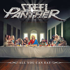 Steel Panther-All You Can Eat Vinyl LP Hair Metal Sticker or Magnet
