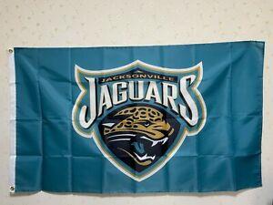 Jacksonville Jaguars Flag 3X5 FT NFL Banner Polyester FAST SHIPPING!!!