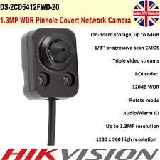 Hikvision DS-2CD6412FWD-20 1.3MP WDR audio/allarme IO con foro sotto copertura IP Camera