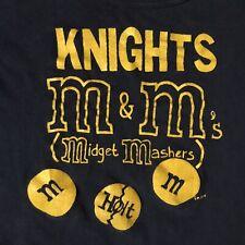 Vtg 70s Knights M & M Midget Mashers Holt T-Shirt L