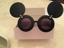 LINDA FARROW X JEREMY SCOTT JS MICKEY MOUSE SUNGLASSES LADY GAGA RARE AND CUTE!