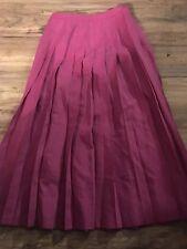 Pendleton Woman's Ladies Skirt Size 6 Pleated Purple