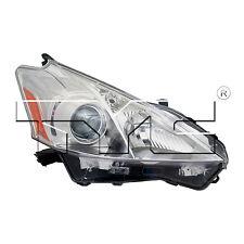 TYC NSF Right Side Halogen Headlight Assy For Toyota Prius V 2012-2014 Models