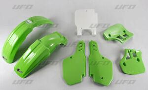 Set Plástico Carenado UFO Plast Kawasaki KX 250 1989 KX 500 1989-1992 KAKIT189