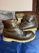 Red Wing Irish Setter Brown Leather Work Boots size 12