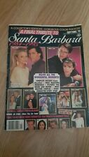 A Final Tribute To Santa Barbara Soap Opera Magazine