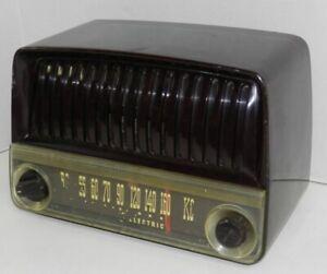 Vintage GE General Electric AM Tube Table Radio Parts Repair