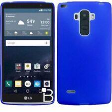Fundas y carcasas color principal azul de silicona/goma para teléfonos móviles y PDAs LG