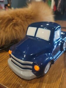 Scentsy Wax Melt Warmer BLUE Retro TRUCK 1950 Chevy highly sought after