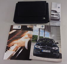 Owner's Manual + Cartera BMW 1-Series E87 116i 118i 120i 130i 118d 120d From