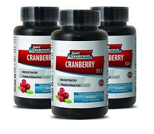 Cranberry Softgels - Cranberry Extract 50:1 - Antioxidant, Stomach Ulcer Caps 3B