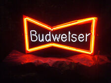 Budweiser neon bowtie sign.used.extra part.local pick up . Atlanta, Ga