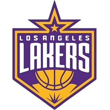 12 Stickers LOS ANGELES LA LAKERS-NBA Vinyl HQ Decal Stickers  CAR Laptop WALL