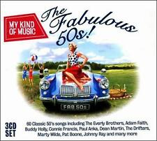 My Kind of Music: The Fabulous 50s! [Box] by Various Artists (CD, 2011, 3...