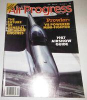 Air Progress Magazine Prowler V8 Powered Mini-Fighter April 1987 080514R