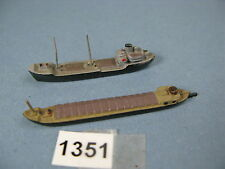 WIKING Vintage Manufacture Diecast Boats & Ships