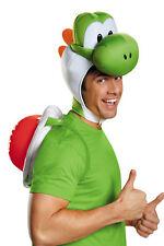 Super Mario Bros Yoshi Adults Costume Kit Headpiece Halloween Dress Up Disguise