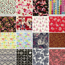 Less than 1 Metre 100% Cotton Craft Fabrics