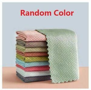 3PCS NanoScale Streak-Free Miracle Cleaning Cloths (Reusable)