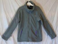 Boys Girls Trespass Mid Grey Zipped Warm Fleece Lined Jacket Age 3-4 Years